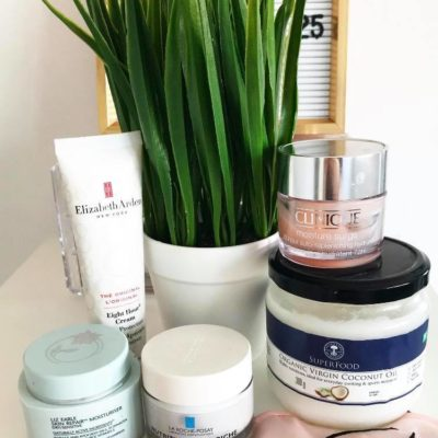My top 5 products for dry skin:  How I keep my skin hydrated